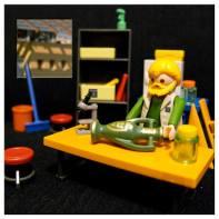 Diorama laboratoire