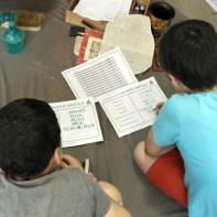 Atelier épigraphie : d'un alphabet à l'autre