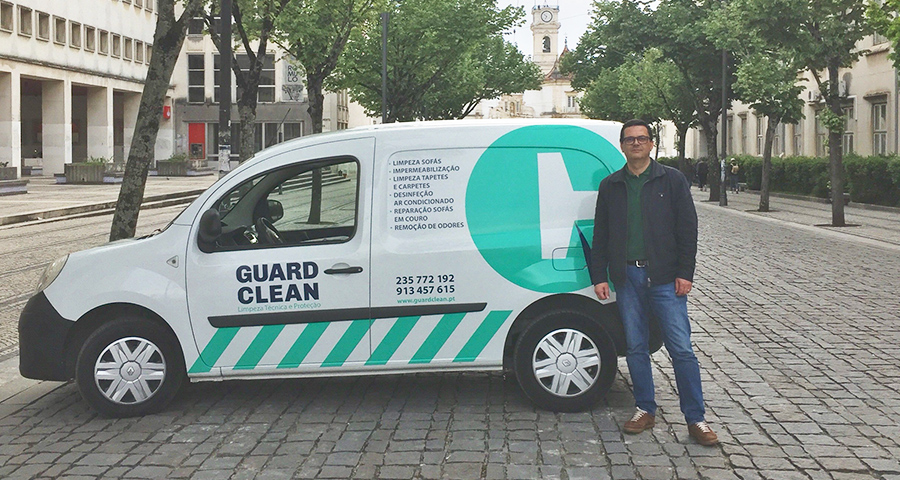 Franchising Guard Clean chegou a Coimbra