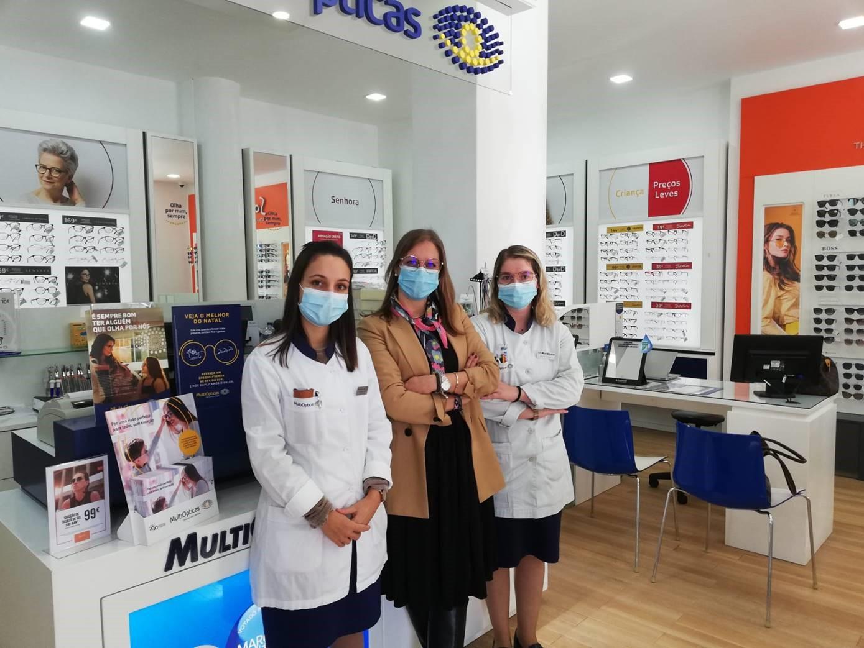 Franchising MultiOpticas reabre loja em Torres Novas