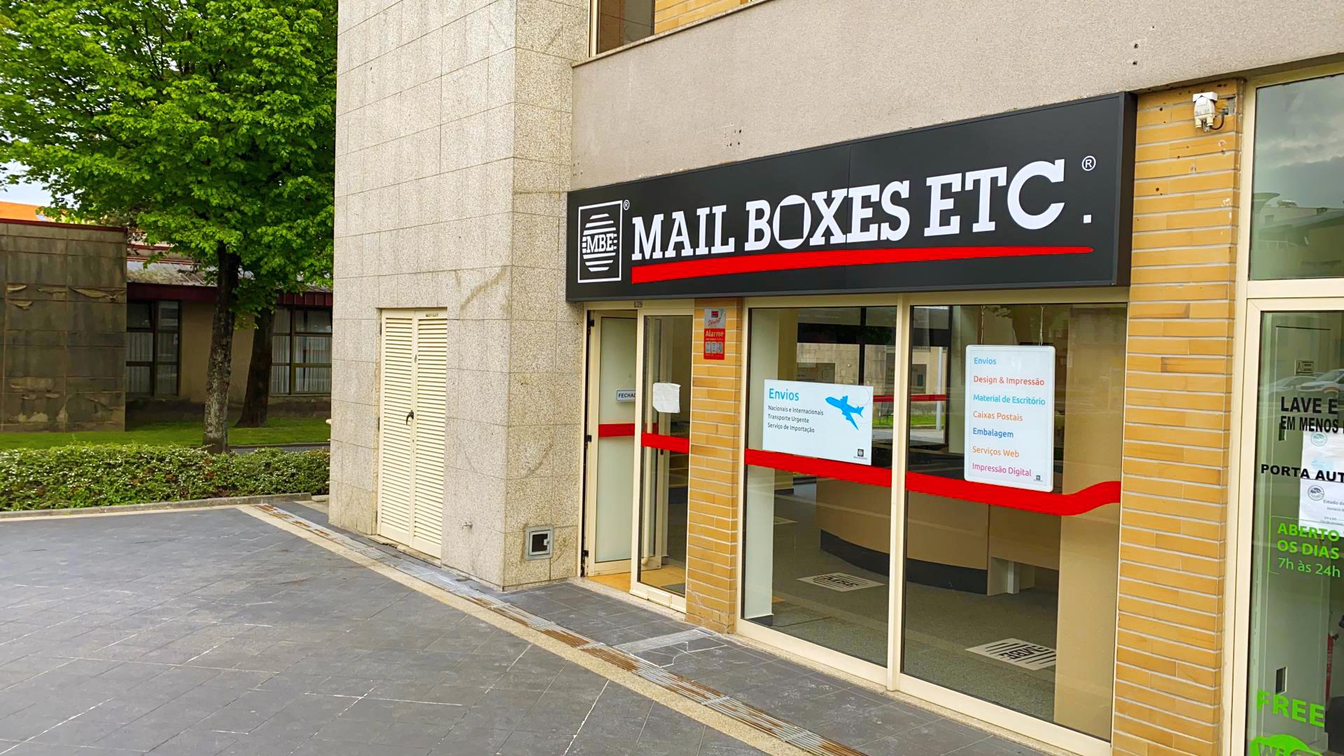 Frachising Mail Boxes Etc MBE Famalicao
