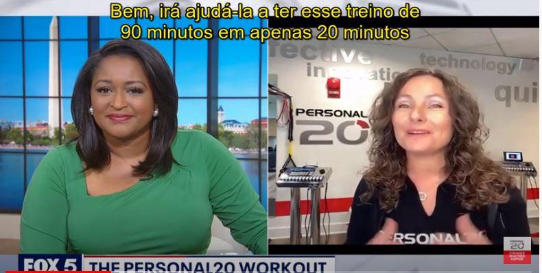 Personal20 no canal FOX em Washington
