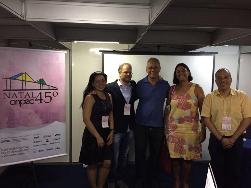Palestrantes da Sessão Especial da AKB na ANPEC
