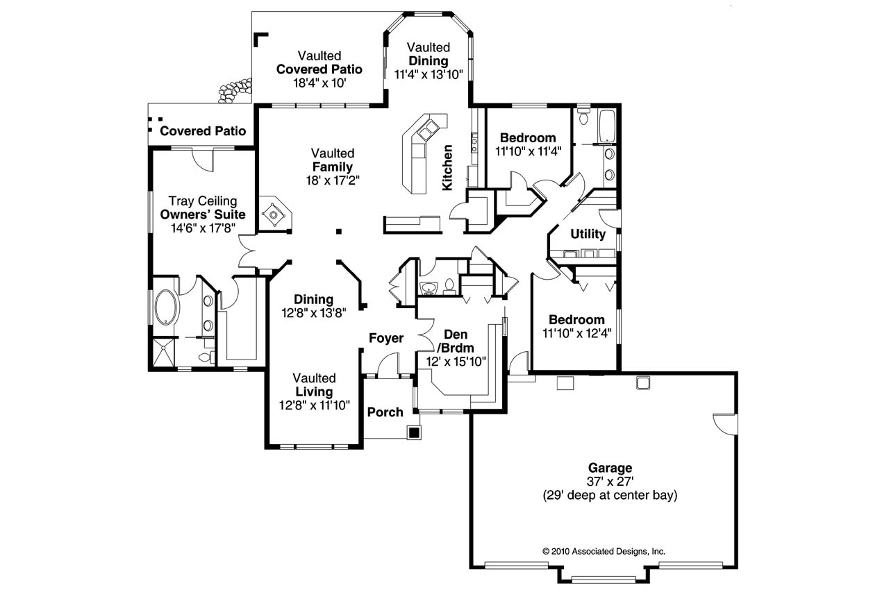 19 Simple Lake House Floor Plan Ideas Photo