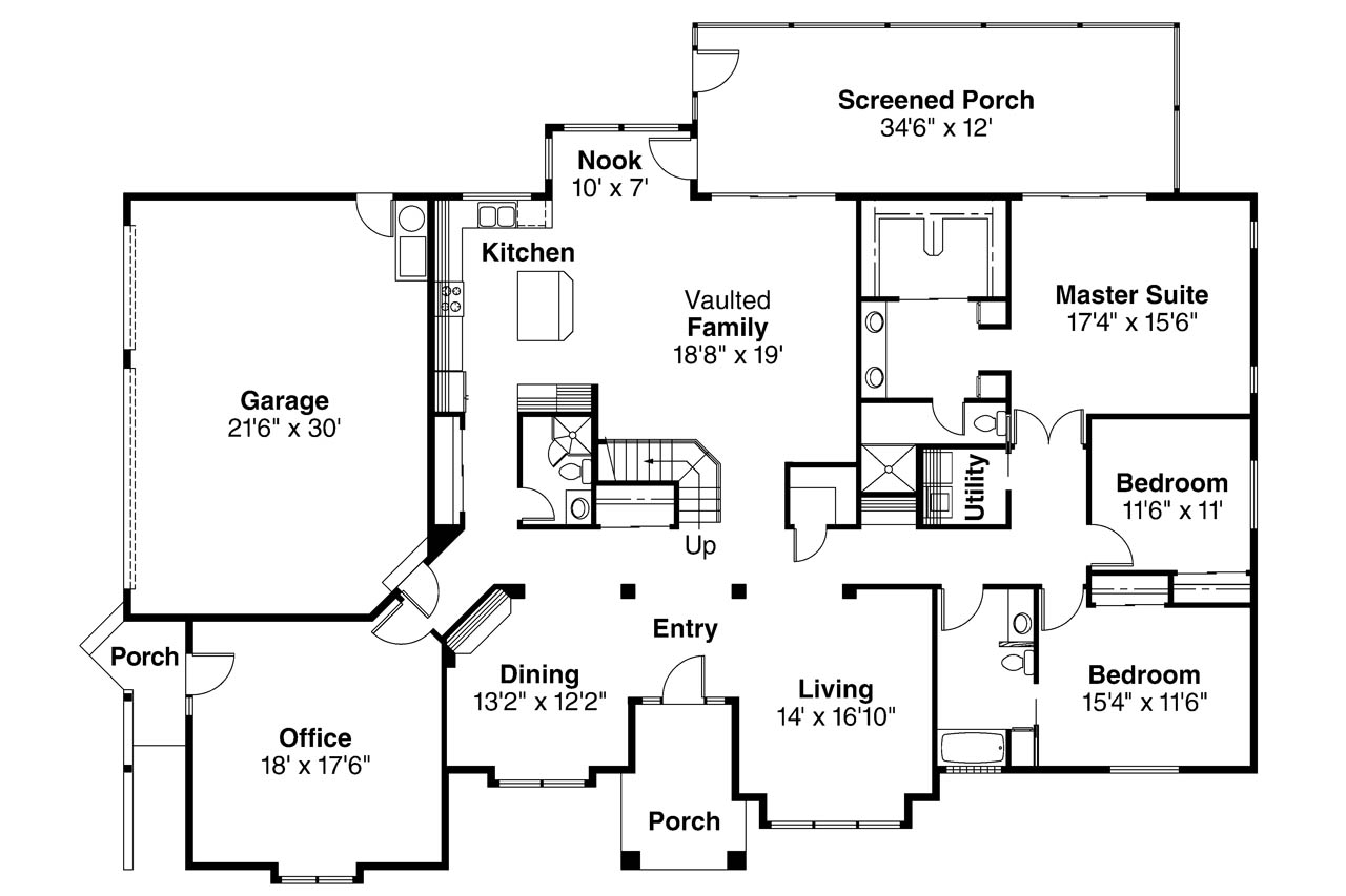 Spanish Style House Plans