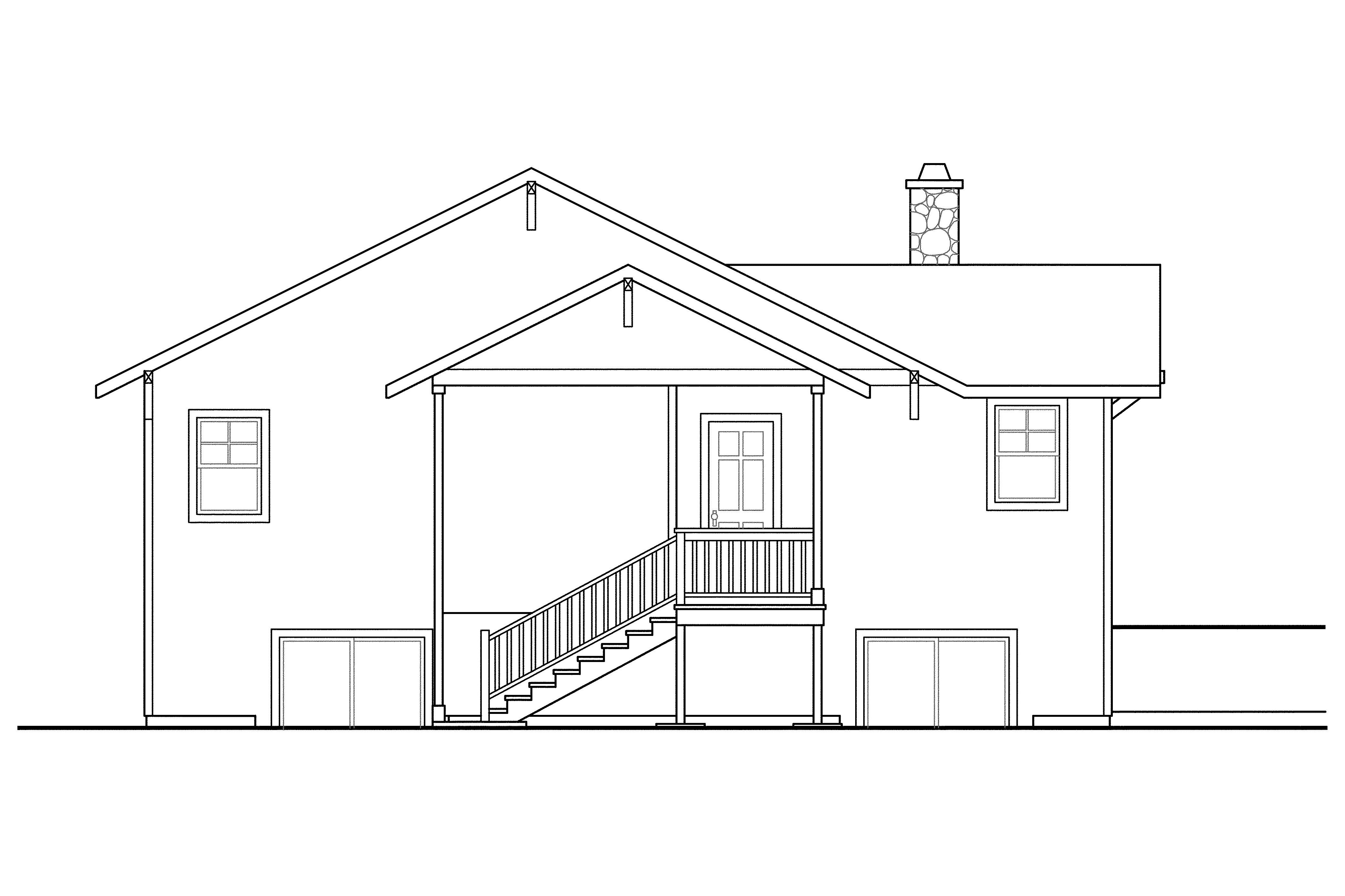 Unique sloped lot house plans house floor ideas for House plans for sloping lots in the rear