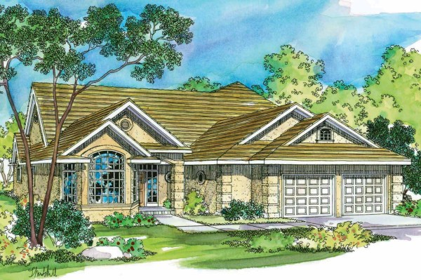 Tuscan House Plans Mansura 30188 Associated Designs