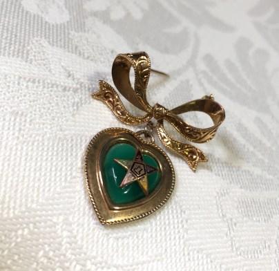 # 235 Vintage Easter Star Brooch