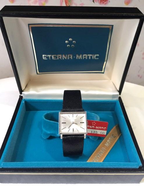 Vintage Eterna-Matic Wristwatch