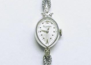 lvw-202 Ladies Lucien Piccard watch, 14K white gold