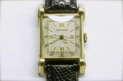 mvw-402 Mens vintage Longines 14K yellow gold estate watch.