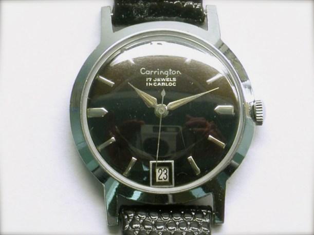 mvw-405 Mens vintage stainless steel Carrington