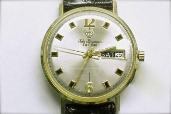mvw-410 Mens 14K yellow gold Jules Jurgensen