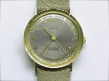mvw-411 Mens estate 14K yellow gold Elgin
