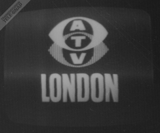 1965 redraw of the ATV London frontcap, reducing the size of LONDON