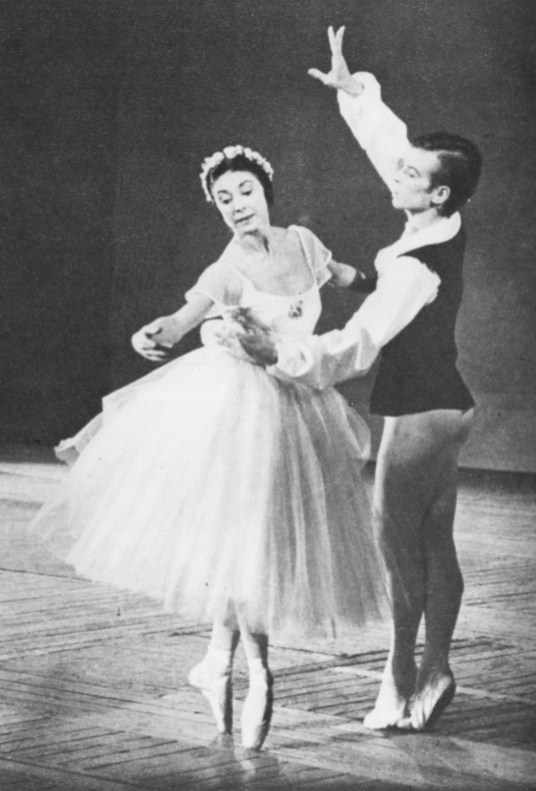 The beauty of the ballet, performed to perfection by MARGOT FONTEYN and RUDOLF NUREYEV
