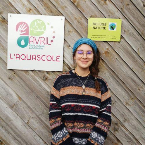 Adelie Desnoulez - service civique