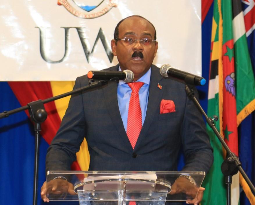 Prime Minister of Antigua & Barbuda Gaston Browne