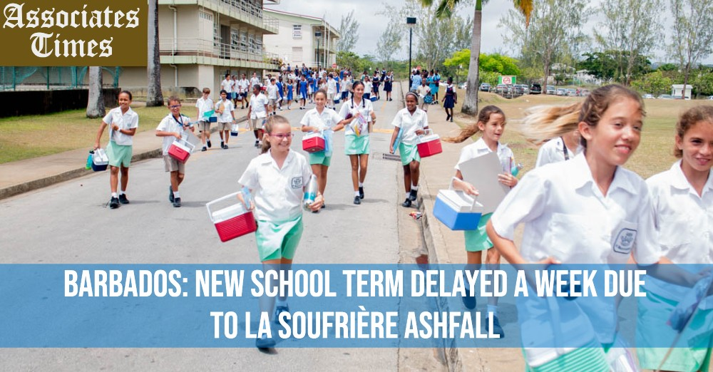 Barbados_ New school term delayed a week due to La Soufrière ashfall