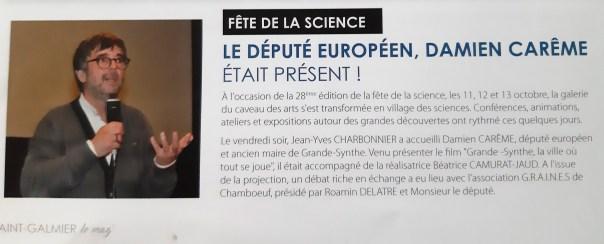 article D. Carème St Galmier Mag 12/19