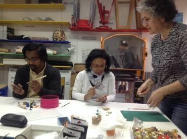 Cours de vitrine miniature avec Ginette Fattal