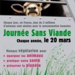 Le 20 mars journée sans viande !