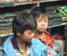 nepal-2enfants
