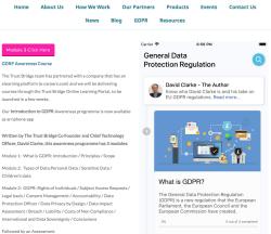 GDPR E-Learning App