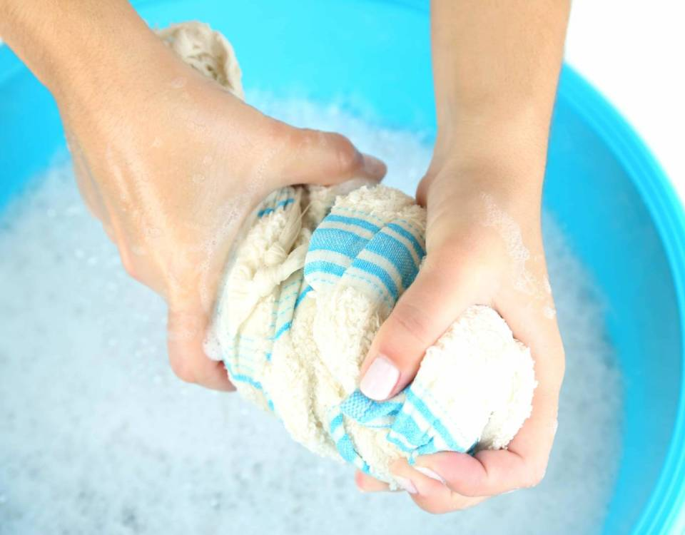 lessive eczéma des mains