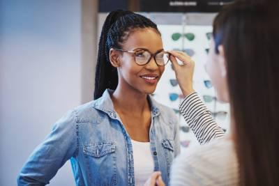 Eczéma de contact lunettes