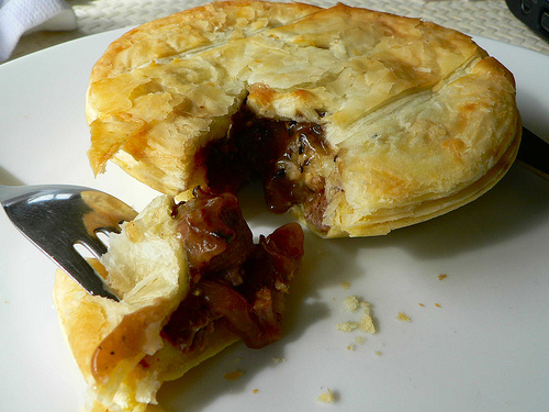 Meat pies for the soccer soul; Photo by Sandy Austin