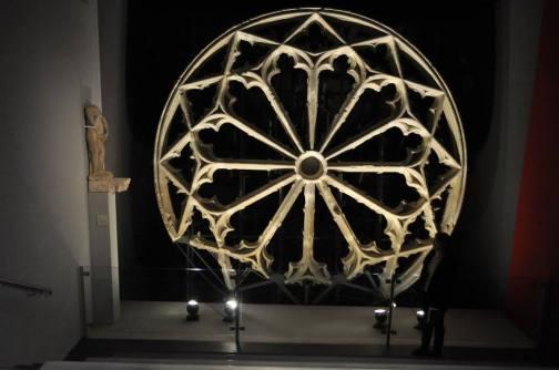 Rosace de l'ancienne église des Grands Carmes - Musée d'Aquitaine
