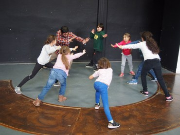 stage theatre enfants
