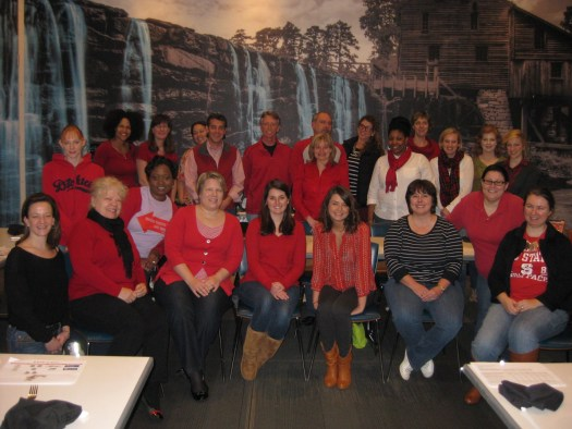 IMI Turns Red for the American Heart Association