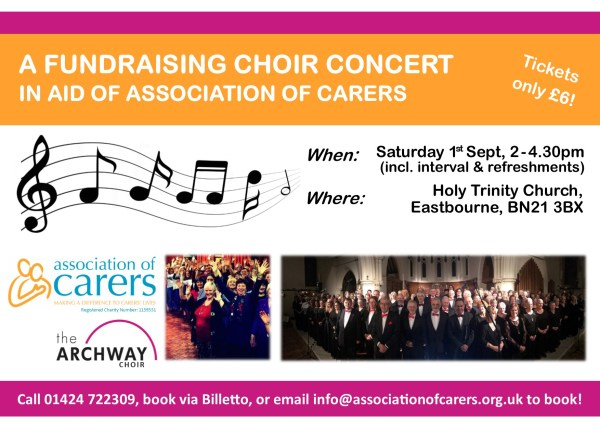 Archway Choir Concert Poster