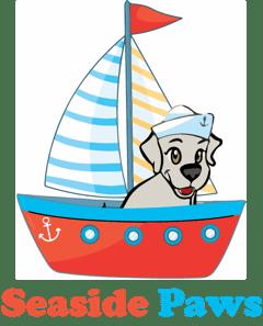 Seaside Paws Logo