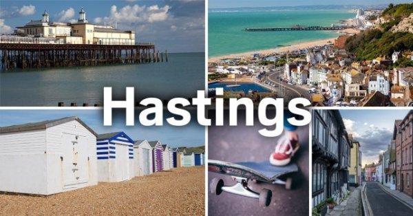 Postcard of Hastings