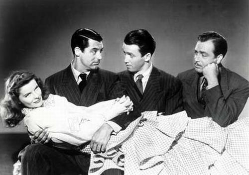 IndiscrŽtions The philadelphia Story 1940 Real. : George Cukor Katharine Hepburn James Stewart Cary Grant Collection Christophel