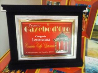 Premio Gazebo d'Oro 2016 categoria Letteratura