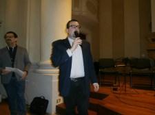 Il Presidente della Ass. Culturale Euterpe, dott. Lorenzo Spurio