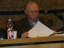 Il prof. Antonio Ramini