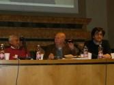 Teseo Tesei, il prof. Antonio Ramini ed Andrea Scaloni