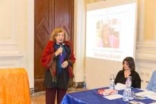 Il Premio alla Carriera 2016 conferito a Donatella Bisutti, nella foto durante il suo discorso