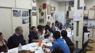 Carlos Lopez, Miguel Funes, Renato Di Nicola, Hebe, Juan Manuel Morente e Lauro Grande