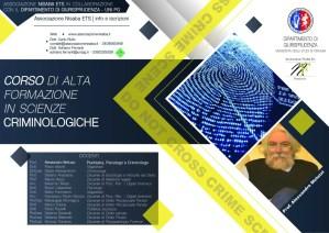 Corso di Alta Formazione in Scienze Criminologiche