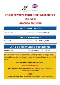 Corso Privacy e Protezione Informatica del Dato. Seconda Edizione