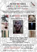 Punti di Vista arte e colori dal mondo 2017 Invito Locandina JPG