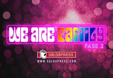 WE ARE FAMILY: il grande progetto saldaPress di sostegno alle fumetterie