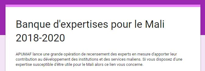 Banque experts