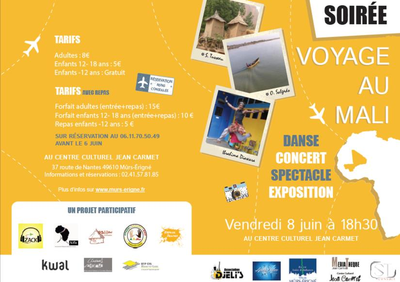 Affiche - Voyage au Mali 2